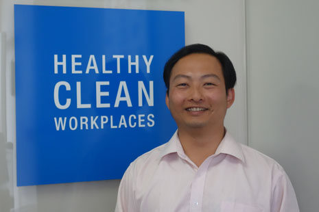 Jason Cheng is CrestClean's new Operations Co-ordinator for Bay of Plenty and Waikato regions.
