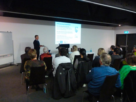 CrestClean Managing Director Grant McLauchlan enjoyed presenting to 15 principals at the New Plymouth Principals Association Cluster Group Meeting.