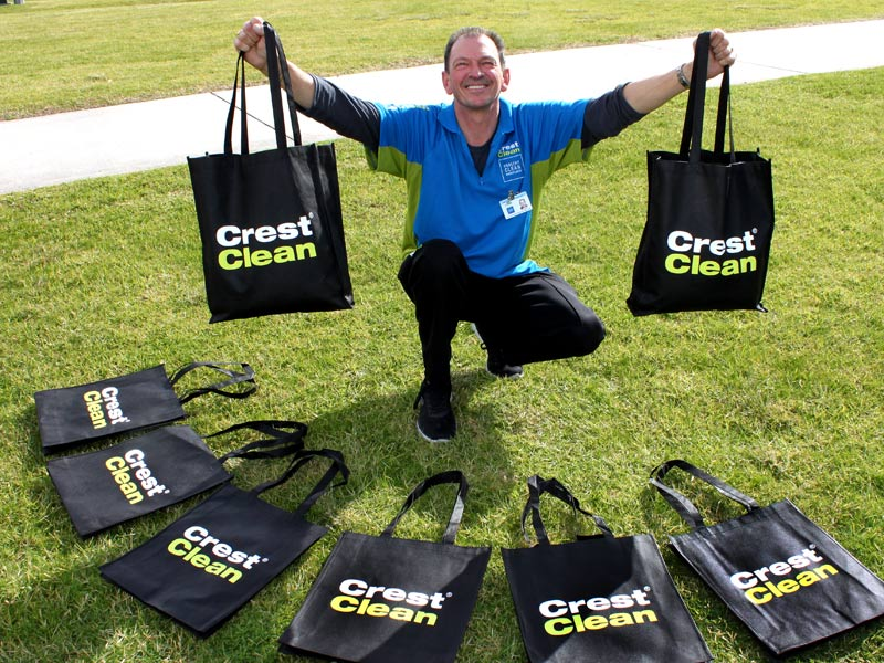 Specially desinged bags will be issued to all franchisees.