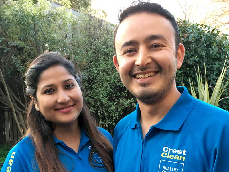 Binu and Lokendra Bista are saving to buy a home in Nelson.