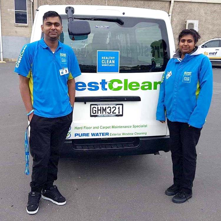 Nitij Maharaj and Rozelyn Maharaj from Dunedin.