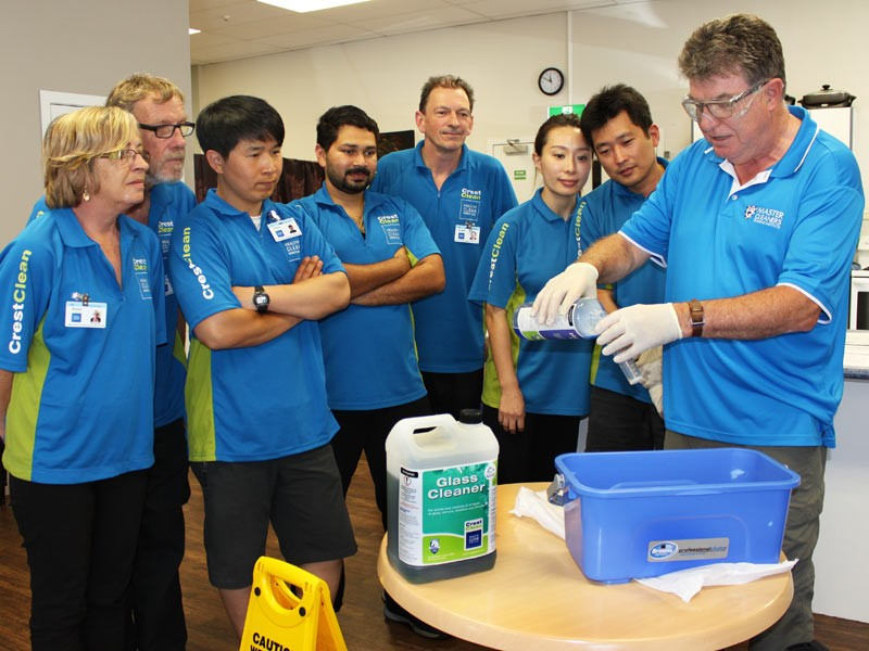 All CrestClean personnel are fully trained by the company's inhouse training arm, the Master Cleaners Training Institute.