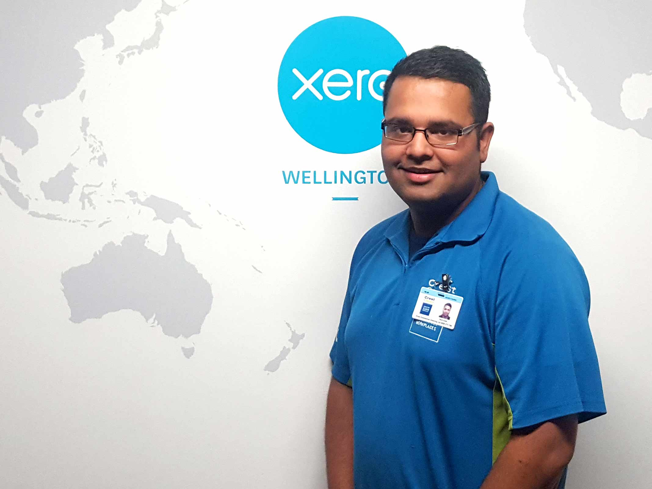 Naval Gupta loves working at Xero where he says he's treated like a member of staff.