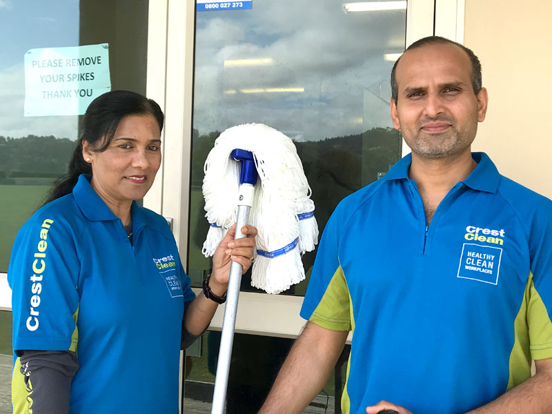 Mohini Coppersmith and Tarun Kumar have already expanded their CrestClean business in Whangarei.
