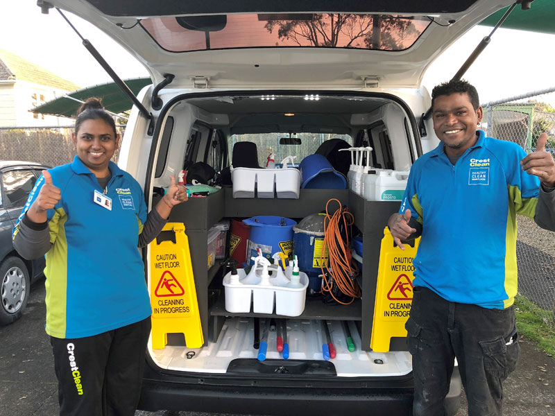 Vikashni Prasad and Atish Kishore love being business owners and say working together has brought them closer.