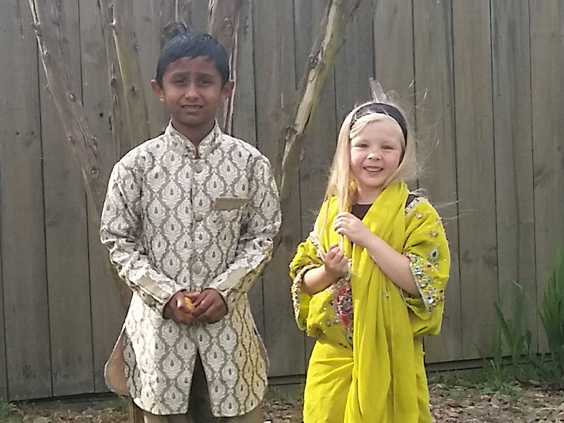 Rahil Prasad and Kara Borgfeldt also dressed for the occasion.