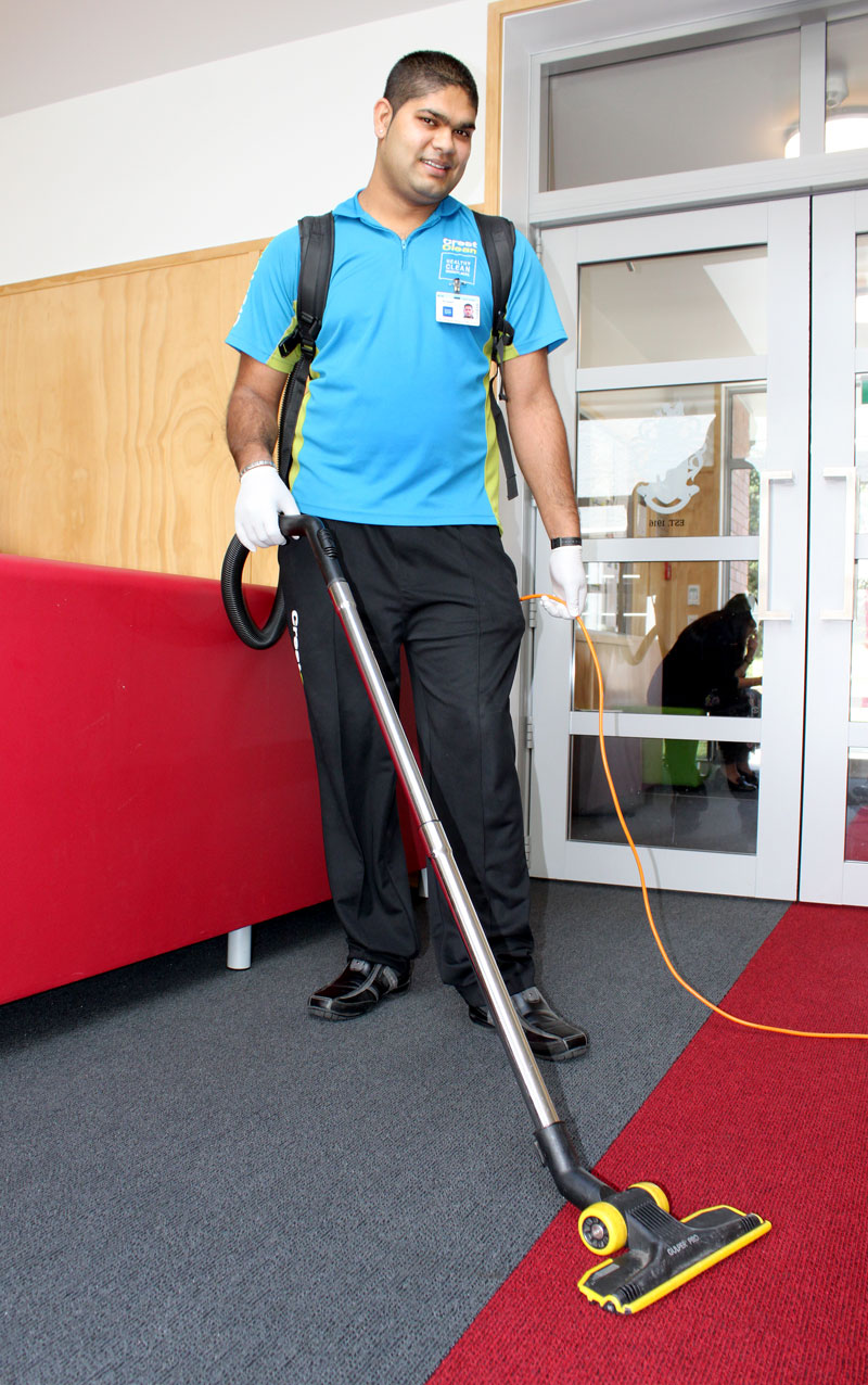 Deepesh Prasad enjoys vacuuming and says it's better than a gym workout!