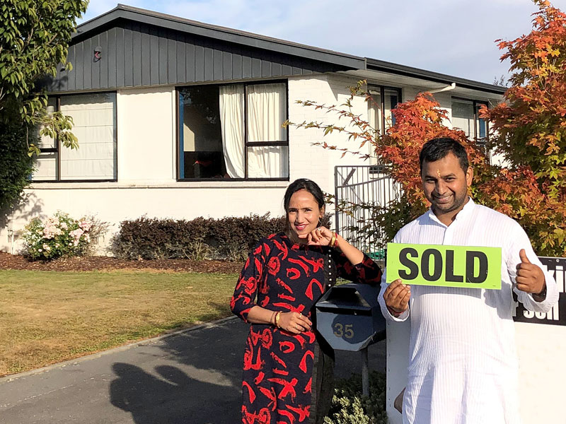Sandeep and Richa Kumar have just bought their first home.