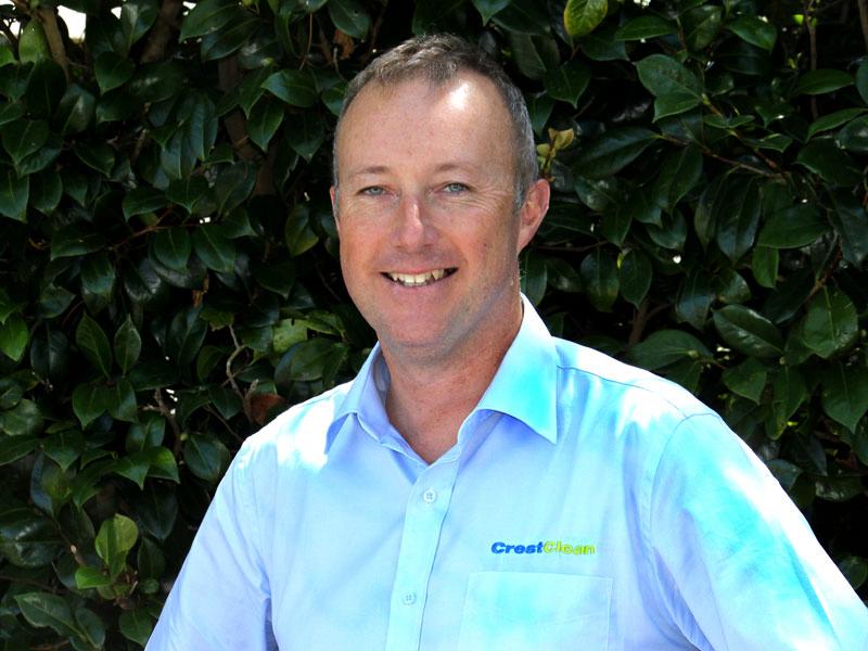 Craig Streeter, CrestClean's latest Quality Assurance Co-ordinator.