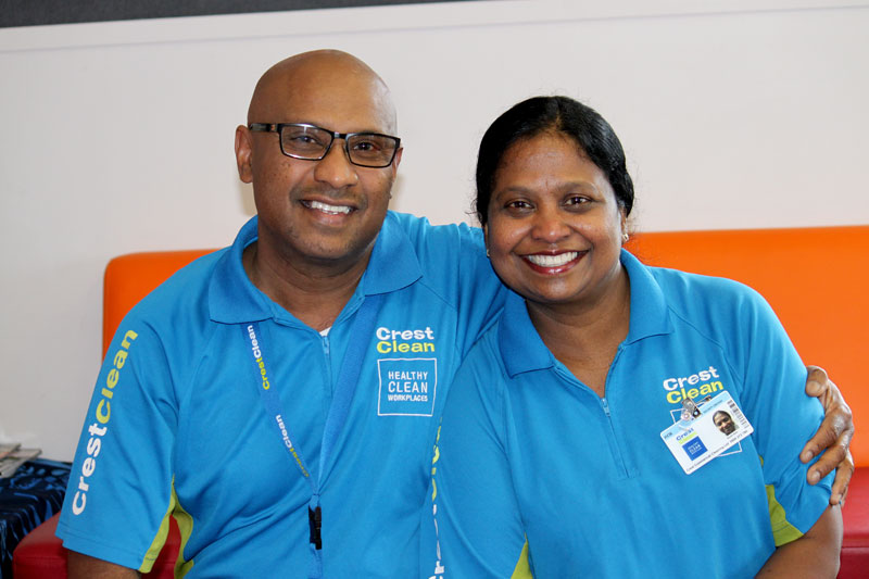 Gyaneshwar and Anzila Dass are loving their roles as Induction Trainers.