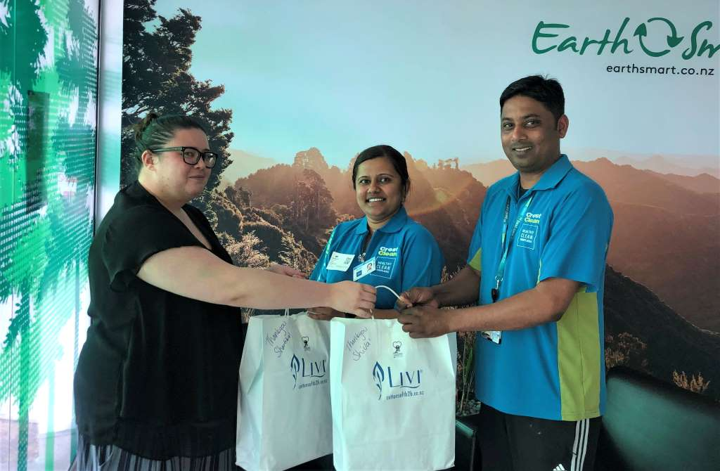 Cleaners rewarded for good work