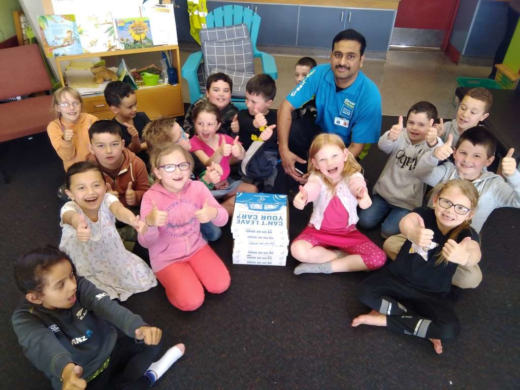 Cleanest Classroom award presented to kids
