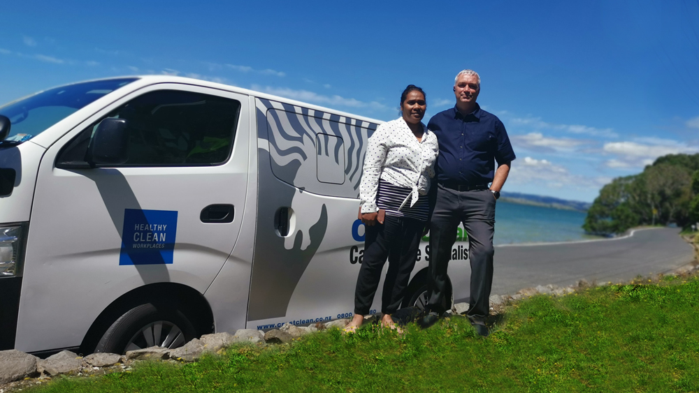 CrestClean's new regional managers for Whangarei