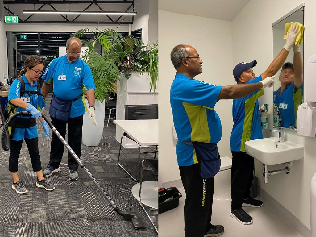 Cleaners training