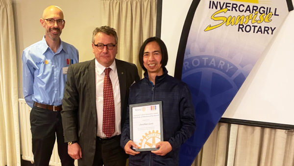 Cleaner receives Rotary award