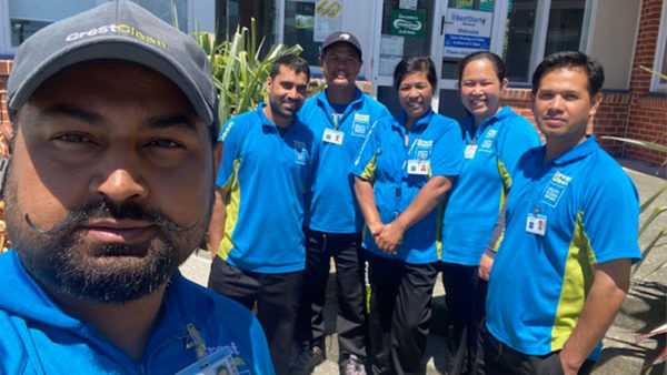 Cleaners complete training